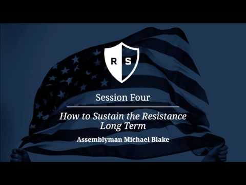 Resistance School Session Four: 'How to Sustain the Resistan