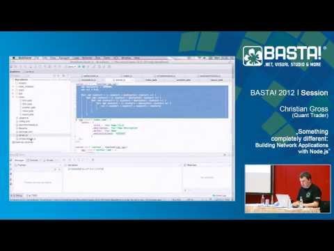 Building Network Applications with Node.js | Christian Gross