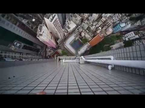 Thumbnail: Viral Video UK: Crazy parkour on a skyscraper