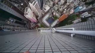 Viral Video UK: Crazy parkour on a skyscraper