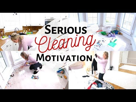 SERIOUS CLEANING MOTIVATION // DAILY CLEAN WITH ME // Amanda Sandefur
