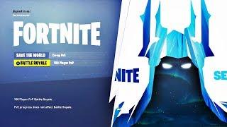 FORTNITE SEASON 7 OFFICIAL TEASER! SEASON 7 ICE KING SKIN REVEALED! (Fortnite Season 7 Teaser #1)
