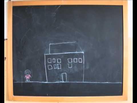 Carta dei diritti dei bambini disegno su lavagna for Coniglio disegno per bambini