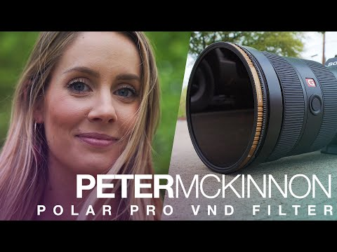 PolarPro 82mm Variable ND Filter 82-6//9-VND 6 to 9 Stops - Peter McKinnon Edition