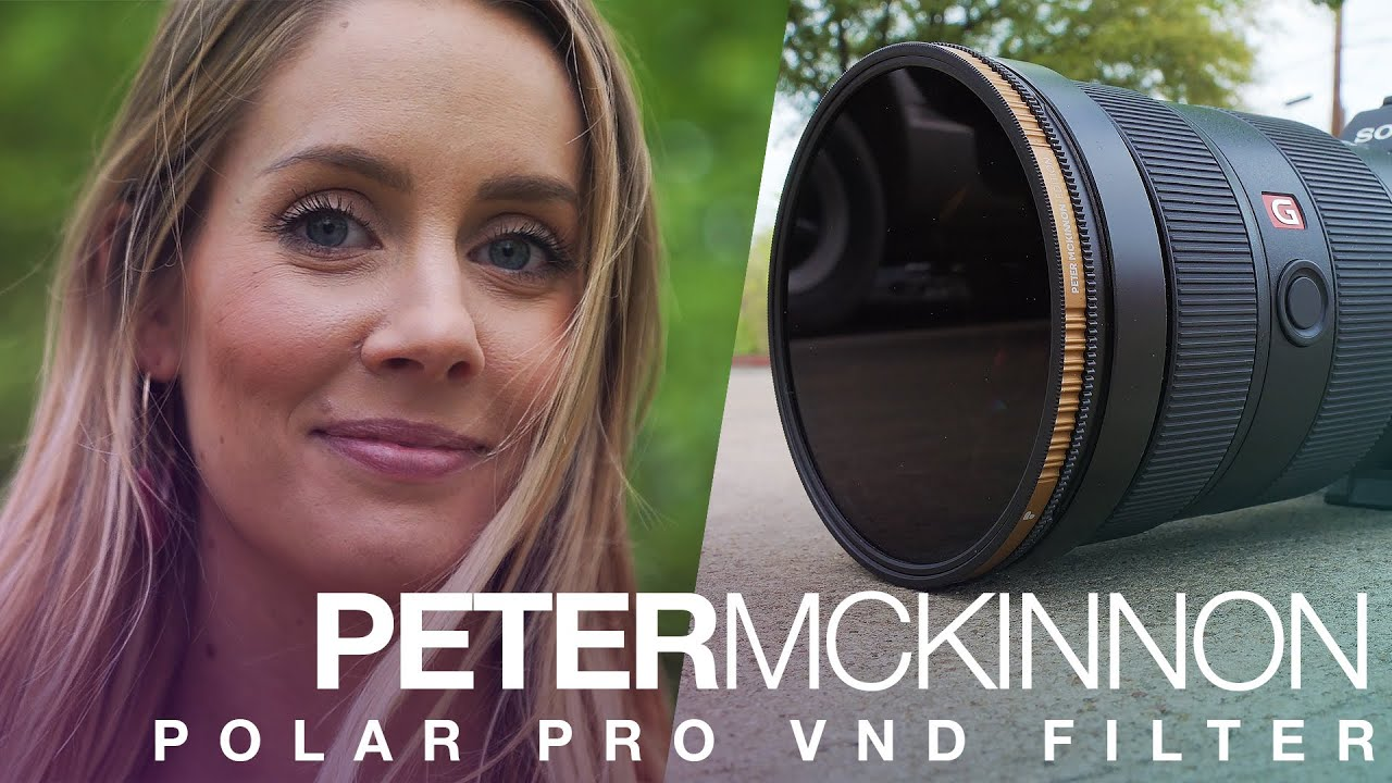 Peter McKinnon + PolarPro made a VARIABLE ND FILTER??!!! Soooooo Good!