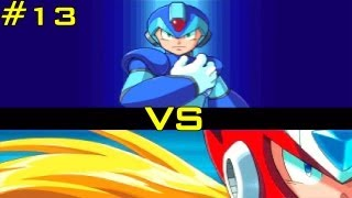 Mega Man X5 [100% Run] - Part 13: X vs Zero [Zero Virus Stage 3]