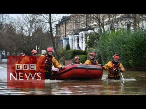 UK Floods: Rescue