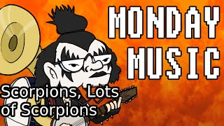 Monday Music: Scorpions, Lots of Scorpions