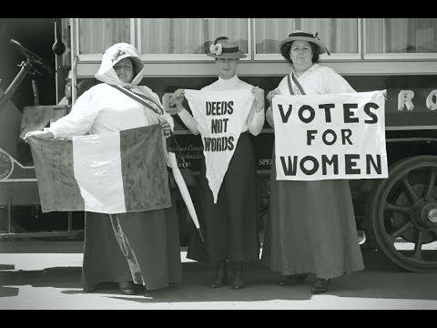 100 years on: How women won the vote