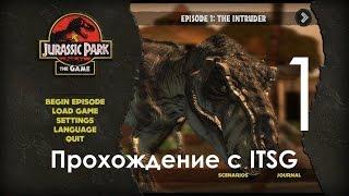 Jurassic Park The Game - Парк Юрского Периода Игра Прохождение с ITSG Часть 1