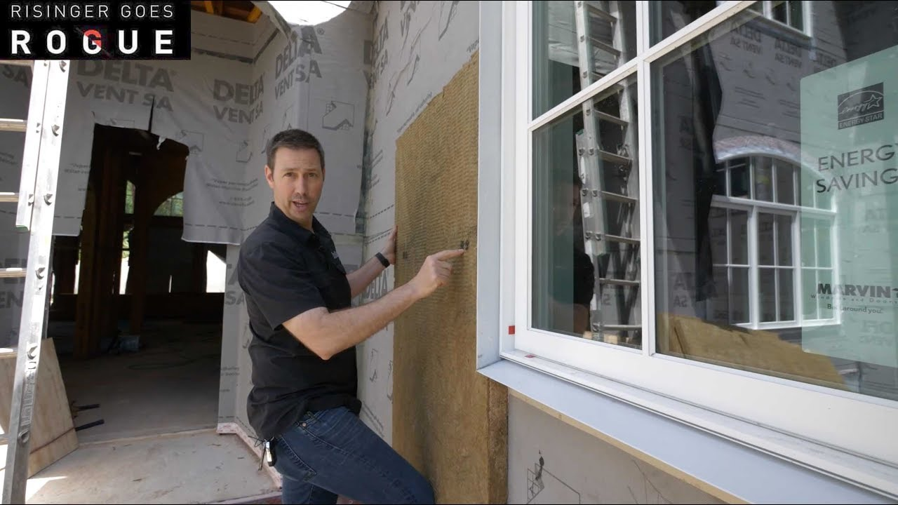 Simple Trick To Exterior Insulation And Window Depth Youtube