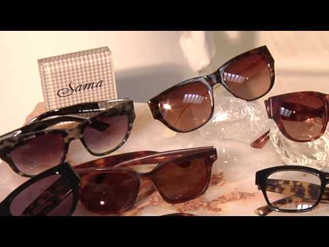HOLLYWOOD TREND REPORT TV with ANN SHATILLA: SAMA EYEWEAR