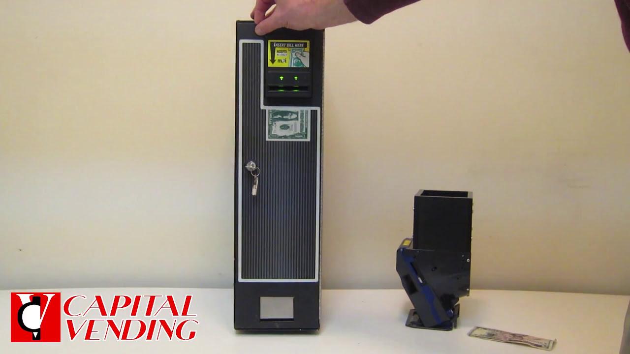 NEW CM-222 Vending Dollar Bill Quarter Machine Changer READY TO GO BEST PRICE