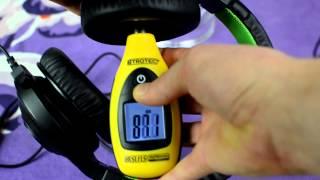Razer Kraken pro Gaming Headset sound SPL dB test + quick review