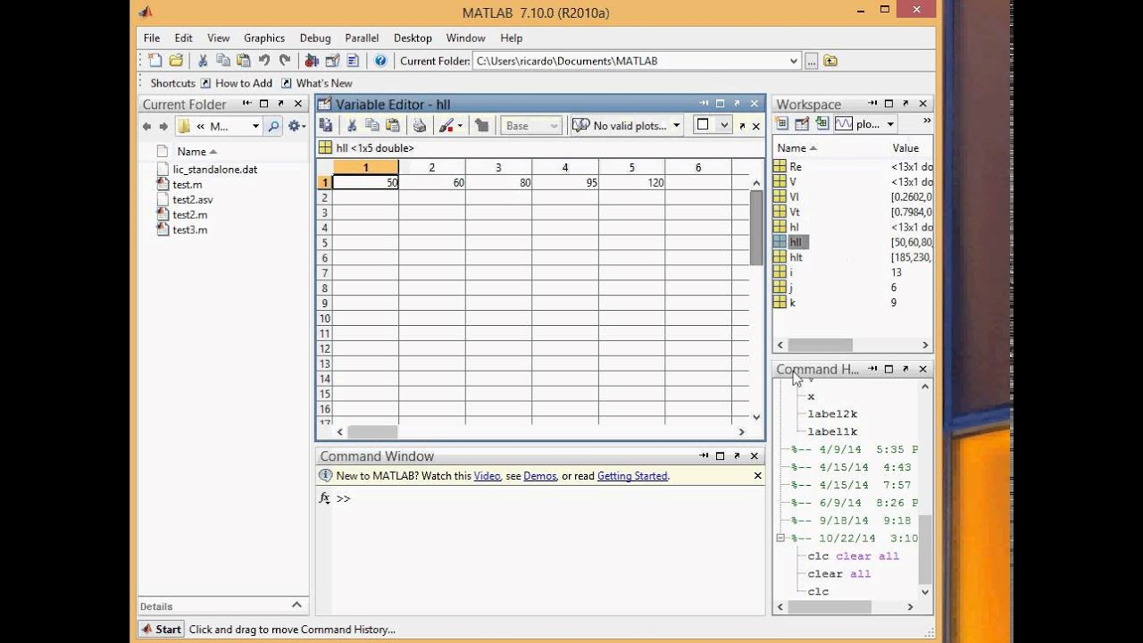 Ae 341 lecture pipeflow plotting using matlab youtube ae 341 lecture pipeflow plotting using matlab ccuart Choice Image