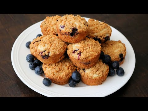 Best Homemade Blueberry Cheesecake Muffins - Easy and Delicious!