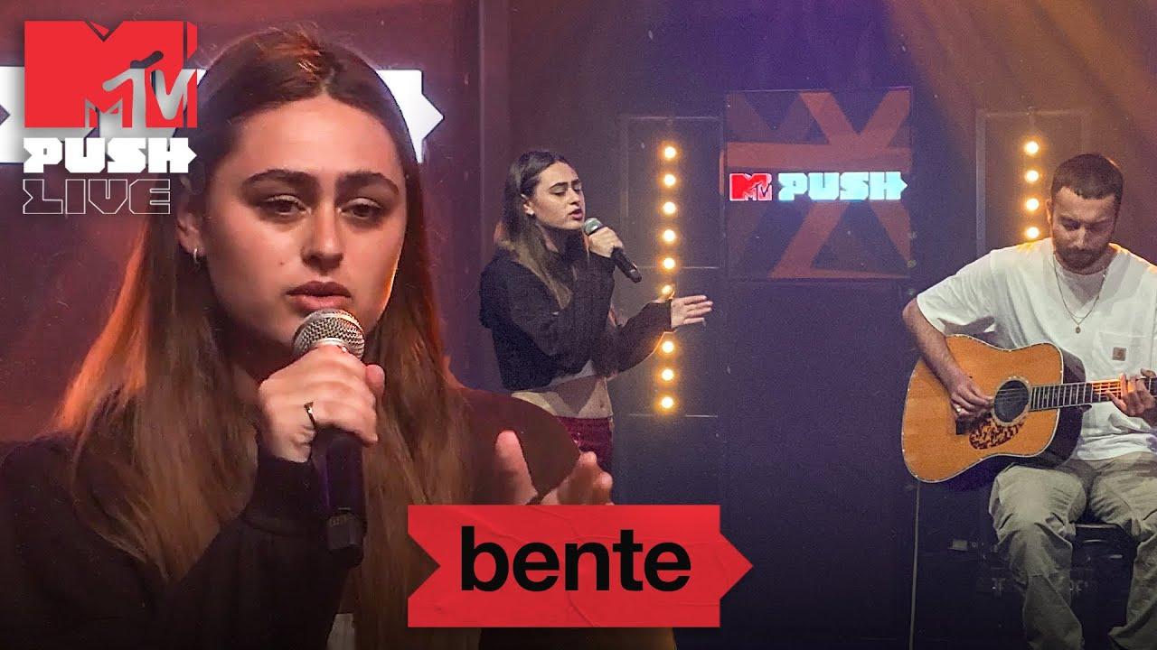 Bente – 'Liefste, Ken Je Mij', 'Ga Maar' & 'Nee is Nee' | MTV Push Live Night, Melkweg Amsterdam