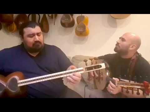 "Ajam practicing 'Tamana' - عجم دور همی قطعه ""تمنا"""