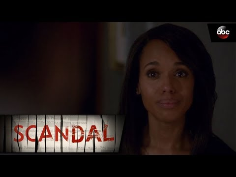 Olivia and Fitz: Over a Cliff  Scandal
