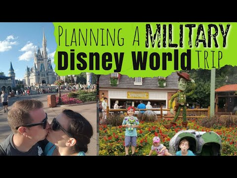 Planning a Military Disney World Trip