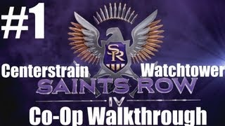 Saints Row IV - CO-OP Walkthrough - Part 1 - Zero Saints Thirty