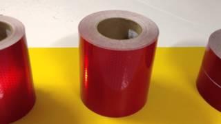 red retro reflective tape video