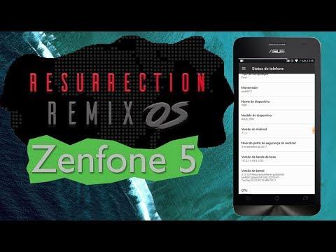 Como Instalar Resurrection Remix 7.1 Zenfone 5 T00J/T00F