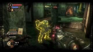 Bioshock 2 - Big Daddy Boss Fight | HD