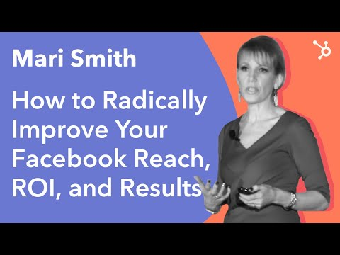 "INBOUND 2016: Mari Smith - ""How To Radically Improve Your Facebook Reach, ROI, & Results"""