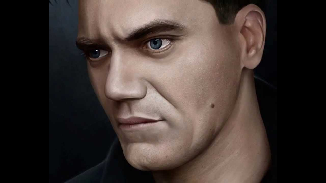 Photoshop Painting Walkthrough Michael Shannon Portrait