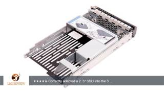 WALI Adapter Bracket WL- 9W8C4 for Dell 3.5 F238F Hard Drive Tray | Review/Test