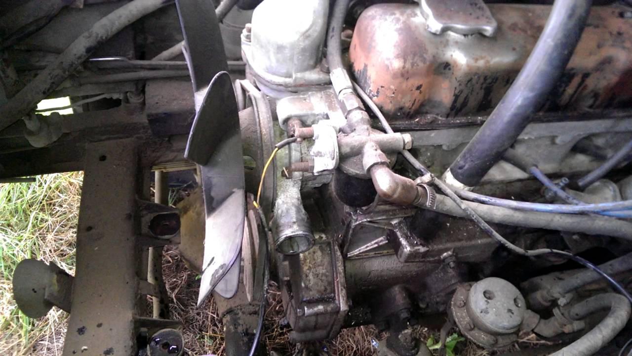 Устанавливаем легкий вентилятор от ГАЗели (3302-1308010-10) на УАЗ .
