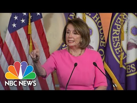 Pelosi Calls Impeachment 'Divisive,' Suggests Trump Family & Staff 'Have An Intervention' | NBC News