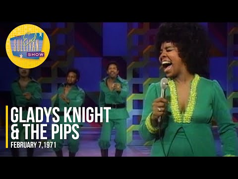 """Gladys Knight & The Pips """"If I Were Your Woman"""" on The Ed Sullivan Show"""