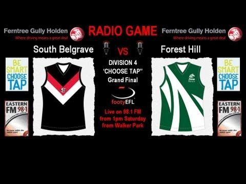 LIVE EFL Streaming - South Belgrave v Forest Hill