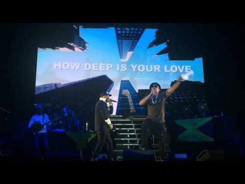 Sean Paul - How Deep Is Your Love (live in Tel Aviv, 2016)
