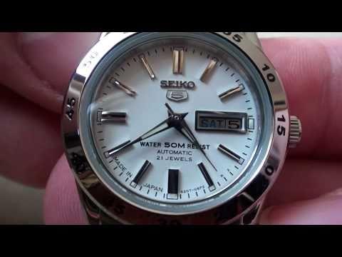 Seiko 5 Ladies watch (Ref. No. SYMG35K1) - Review Video