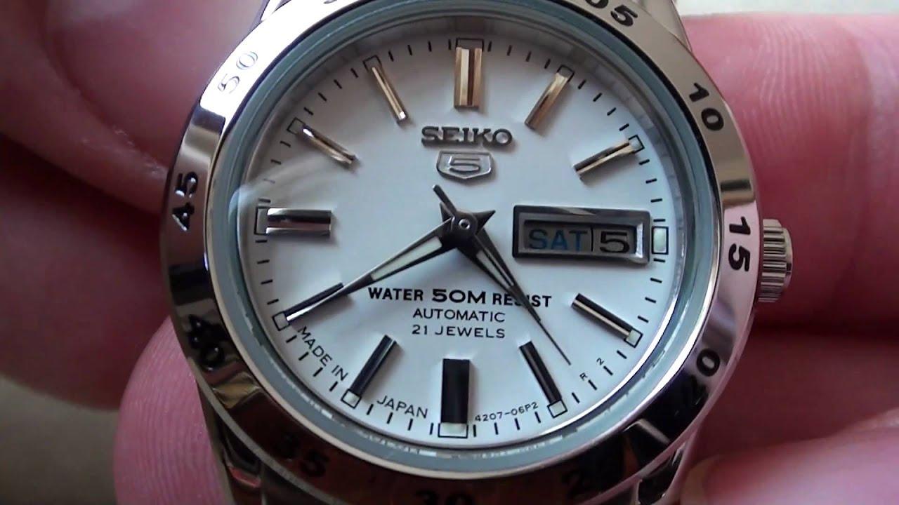 Seiko 5 Ladies Watch Ref No Symg35k1 Review Video Youtube
