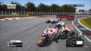 MotoGP 15 - Dani Pedrosa Gameplay (PC HD) [1080p]