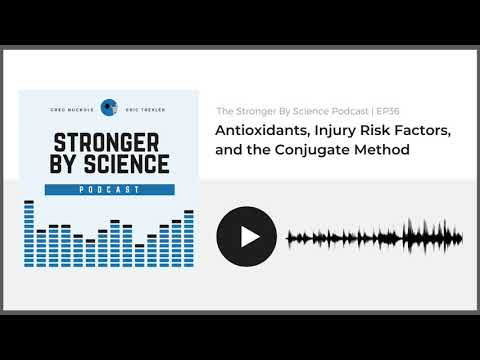 Antioxidants, Injury Risk Factors, and the Conjugate Method