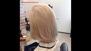 Прикорневое мелирование для блондинок