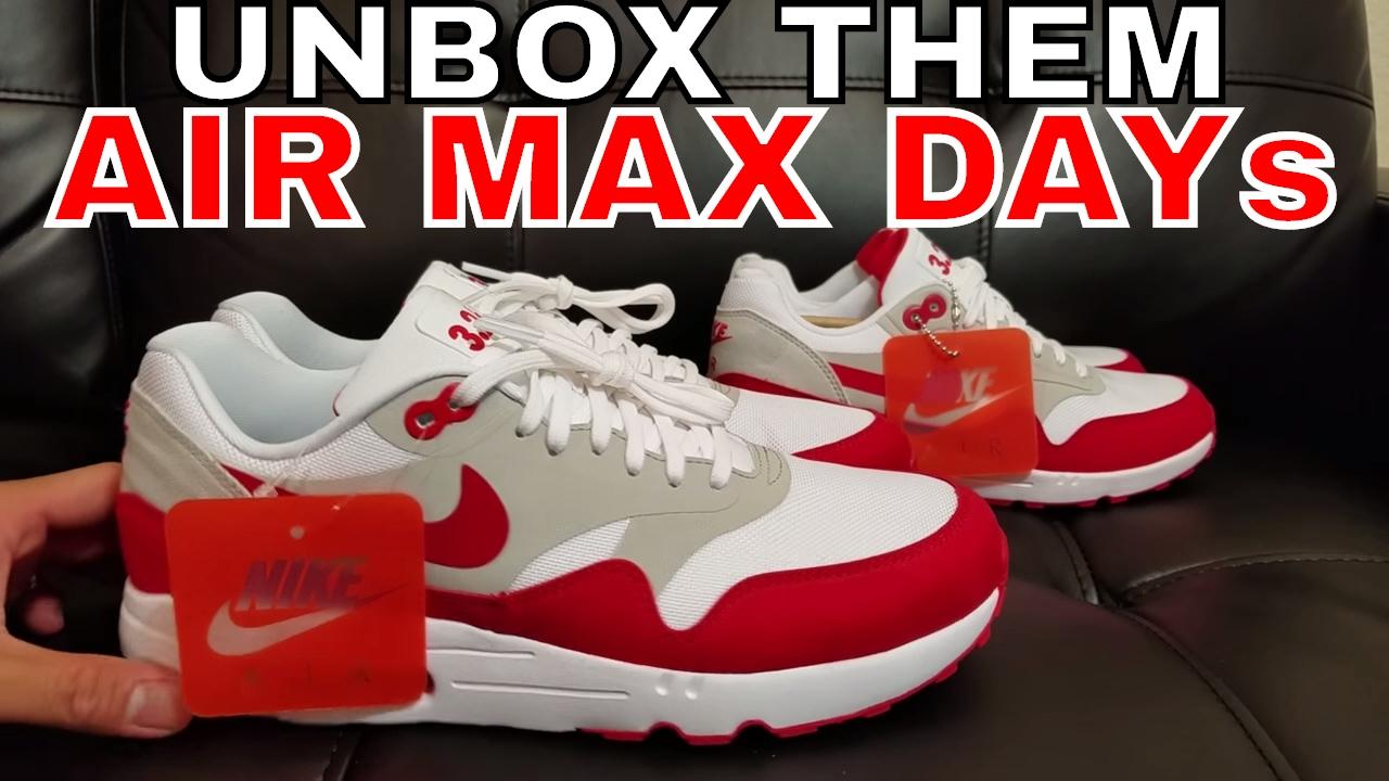 1997 Nike Air Max 1 Varsity Red Hybrid Sole Swap