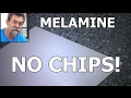 saw melamine | no chip | woodworking | dave stanton | how to basics