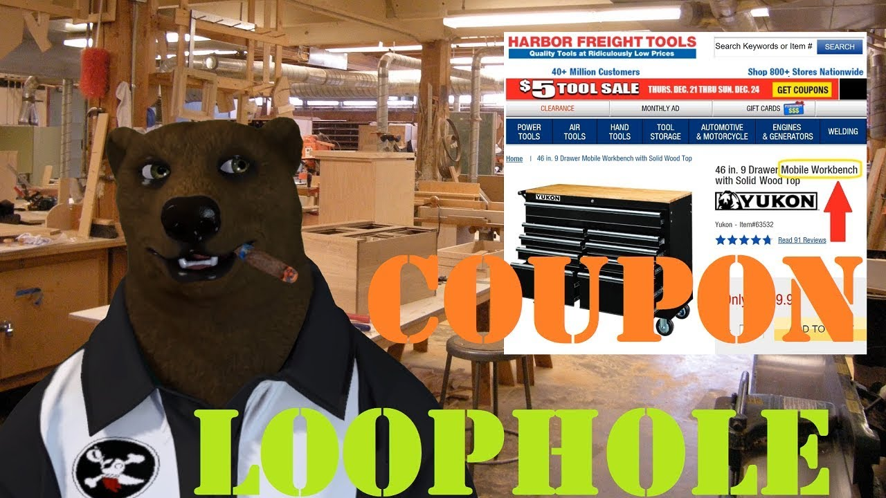 Best Harbor Freight Tools 2020 Harbor Freight Coupon Loophole, use it before they close it