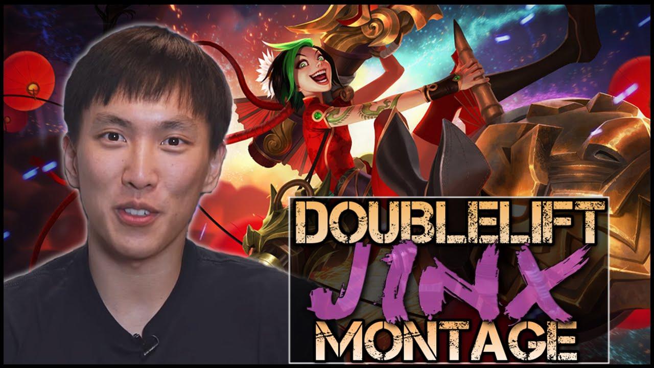 Tổng hợp đỉnh cao Jinx trong tay Doublelift