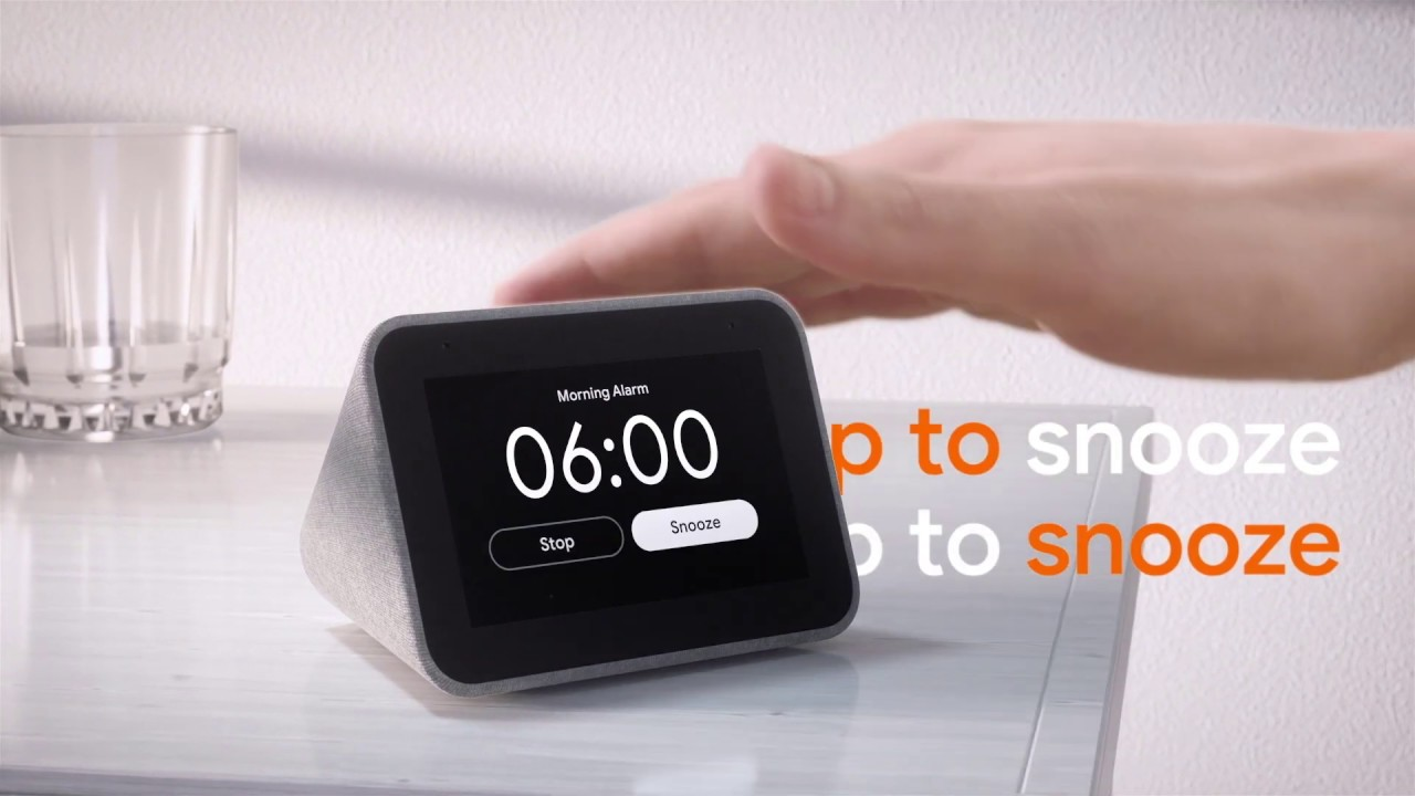 Meet the Lenovo Smart Clock with Google Assistant - YouTube