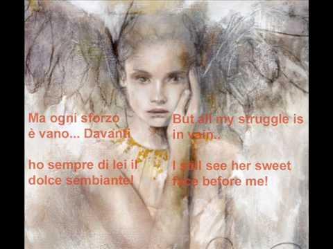 Andrea Bocelli Lamento Di Federico (English Lyrics)