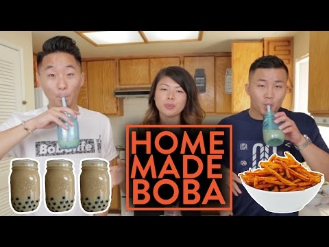 HOMEMADE ORGANIC BOBA RECIPES?!?!