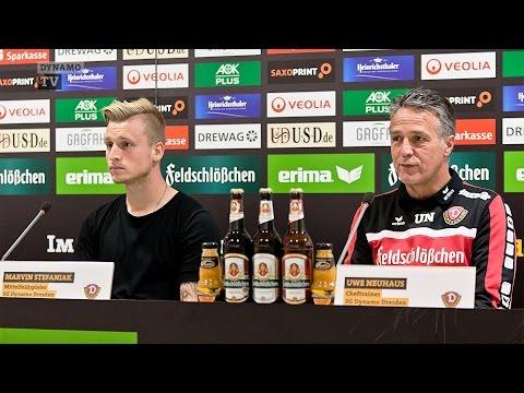 12. Spieltag | FCH - SGD | Pressekonferenz vor dem Spiel