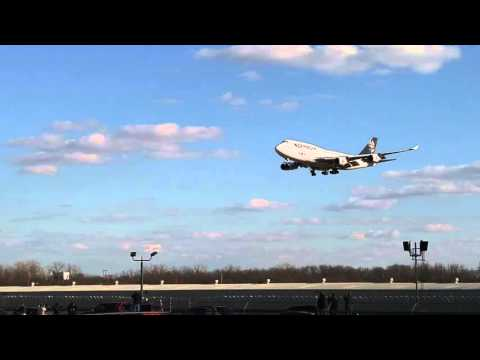 Ed Force One Flying into Tulsa Oklahoma